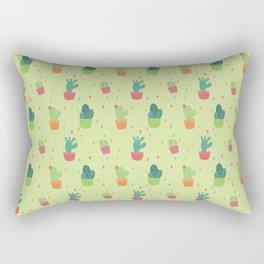Cactus Party Pattern Rectangular Pillow