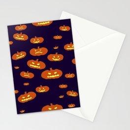 Pumpkin Glow Stationery Cards