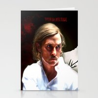 true detective Stationery Cards featuring True Detective by Sunli