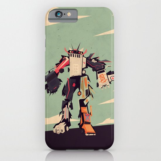 famous car monster iPhone & iPod Case