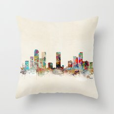 denver colorado Throw Pillow
