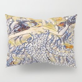 Coral Queen Pillow Sham