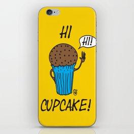 Hi Cupcake! iPhone Skin