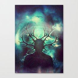 Deer Dreams II Canvas Print