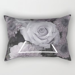 Rose Triangle Rectangular Pillow