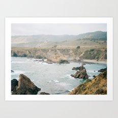 California Coast 2 Art Print