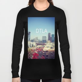 Downtown Los Angeles view from The Ace Hotel  Long Sleeve T-shirt