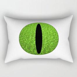 Cat's Eye-Peridot Rectangular Pillow