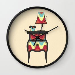 bedtime story Wall Clock