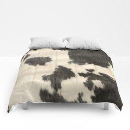 Black & White Cow Hide Comforters