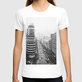 Gran Via in Madrid T-shirt