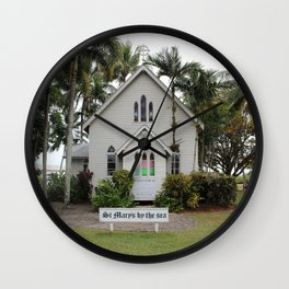 St Mary's by the Sea Wall Clock