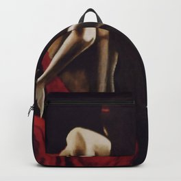 Crimson Beauty Backpack