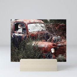 Old Truck on the Mountain Mini Art Print