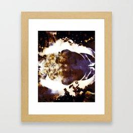 Clouds Obscura Framed Art Print