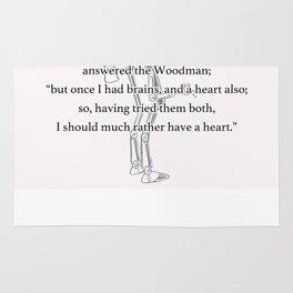 Oz - Woodman Rug