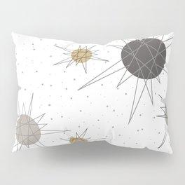 Atomic Stars Neutral Pillow Sham