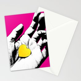 Love, The Universe (in pink) Stationery Cards