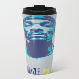 Snoop Dogg Poster Art Metal Travel Mug