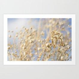 Heart Ring Art Print
