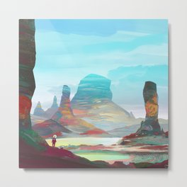 On another planet 2 Metal Print