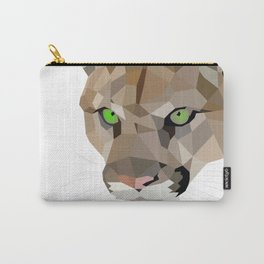 Cougar art Geometric Carry-All Pouch