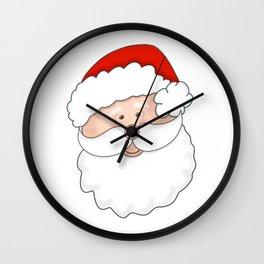 Ho Ho Ho Santa. A Real Jolly Guy! Wall Clock