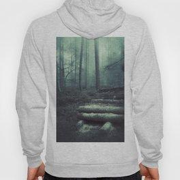 Foggy Forest Logs Hoody