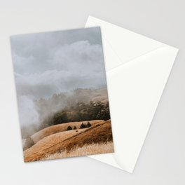 Fog and Clouds on Mount Tamalpais Stationery Cards