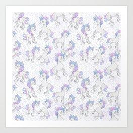Unicorn Sparkles Art Print