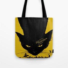 Vintage poster - Black Cat Tote Bag