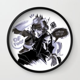 Tracer and Reaper Wall Clock