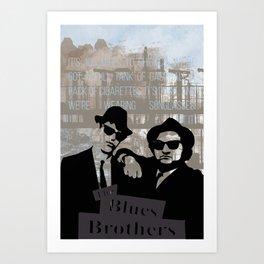 Blues Brothers Art Print
