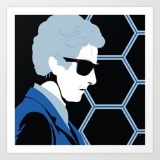The 12th Doctor Art Print