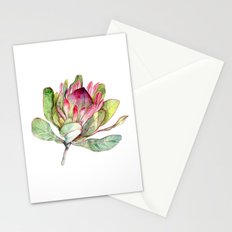 Protea Flower Stationery Cards