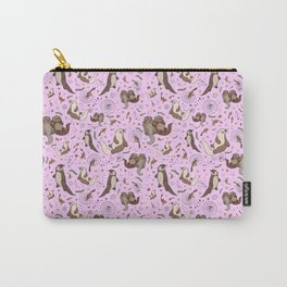 Cute Otters :) Carry-All Pouch