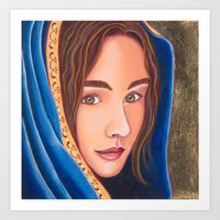 Our Lady of Light Art Print