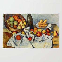 """Paul Cezanne """"Basket of Apples"""" Rug"""