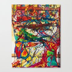 Burora Aorealis Canvas Print