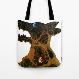 I Am The Night Tote Bag