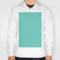 turquoise Hoodies featuring Turquoise  by EVNF