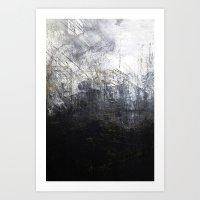 Gastado Art Print