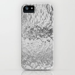 Clear Water (Black and White) iPhone Case