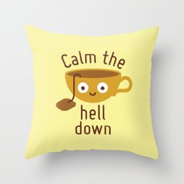 Anxietea Throw Pillow