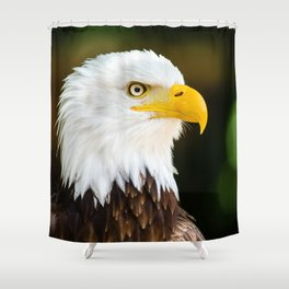American Eagle Shower Curtain