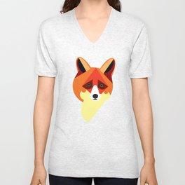 Zorro/Fox Unisex V-Neck