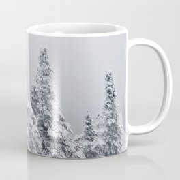 Snow and Trees in New Hampshire Coffee Mug