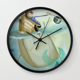 pirata bueno Wall Clock
