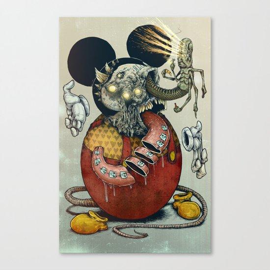 Acid Slouse Canvas Print