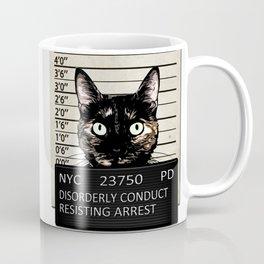 Kitty Mugshot Coffee Mug